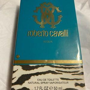 ROBERTO CAVALLI AQUA FRAGRANCE 50ML NEW
